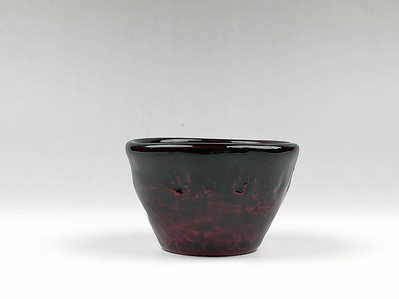輪島塗 手びねり乾漆ぐい飲みSS(黒)